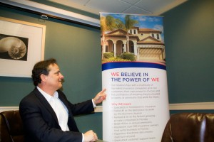 boardroom shot of homeowners insurance meeting coral gables miami