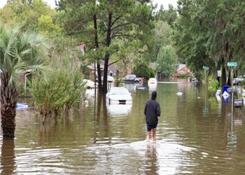 hurricane joaquin flooding in south carolina