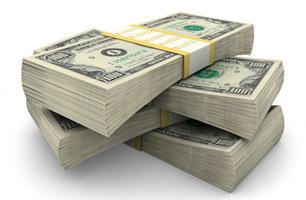 actual cash value pile of money
