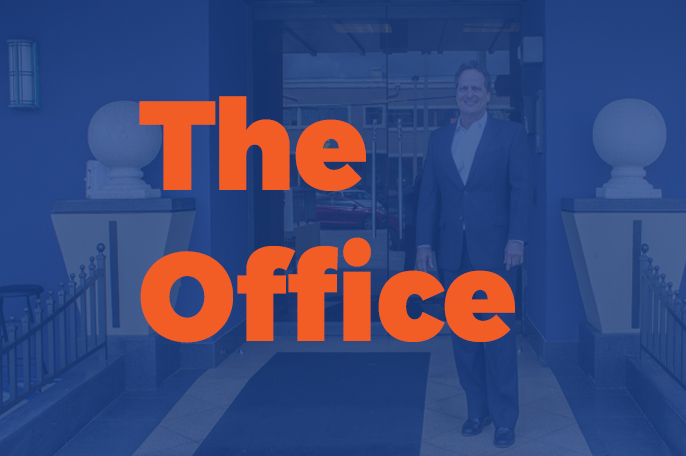 the office intro image with randy marzullo we insure group miami